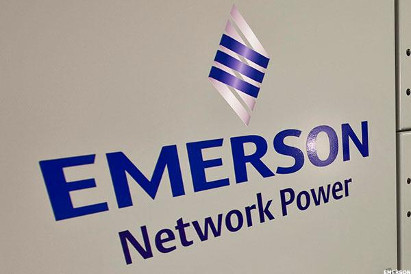 Emerson Electric: Flirting With a Key Neckline on the Charts