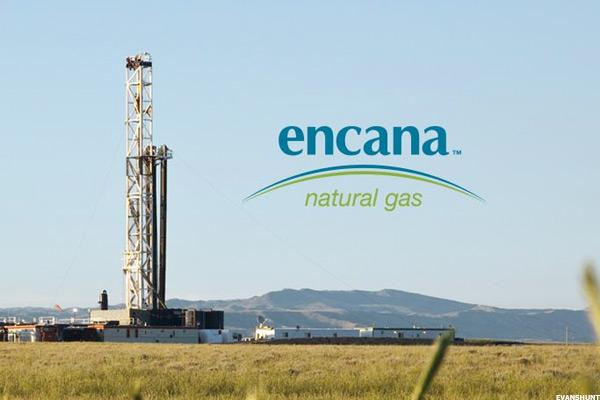 Encana (ECA) Stock Higher as Oil Prices Rise
