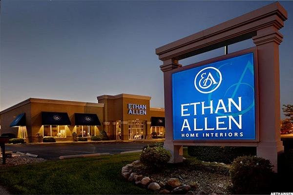 Ethan Allen Stock Rising on Raymond James Upgrade