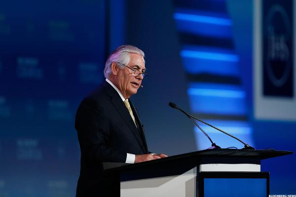 Trump Said to Pick Exxon Mobil CEO Tillerson for Secretary of State
