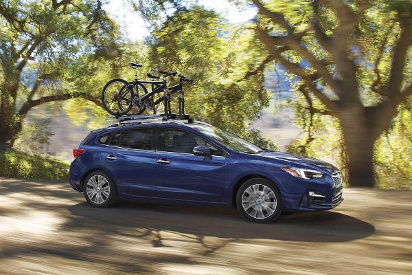 All-wheel drive cars: Subaru Impreza