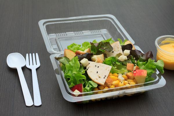 10. Plastic Take-Out Containers