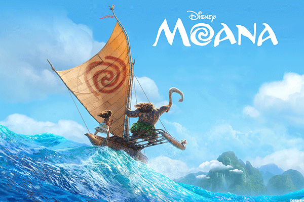 Disney's 'Moana' Tops Thanksgiving Holiday Box Office