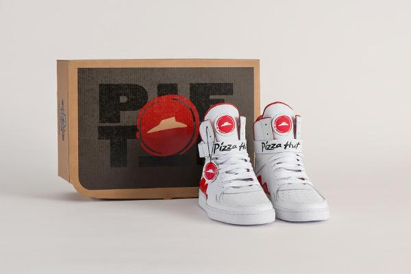 Yes, Pizza Hut Just Created High-Top Sneakers That Will Let You Order a Cheese Pizza