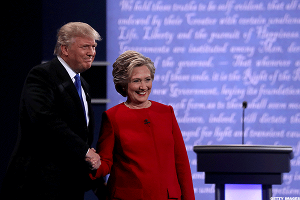 Clinton-Trump Debate Tops 84 Million Viewers to Break Reagan-Carter's 1980 Record