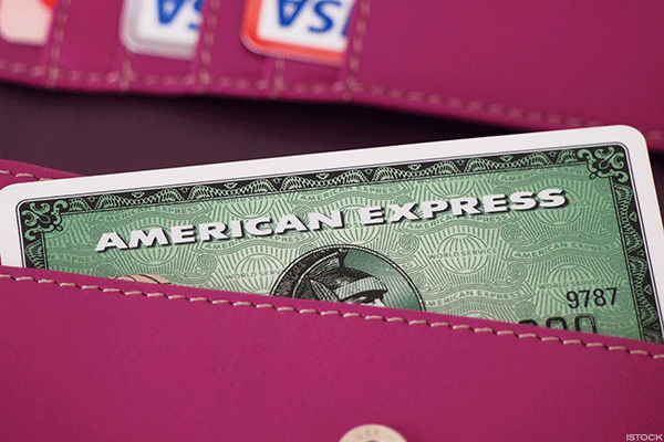 American Express Expresses Mixed Signals