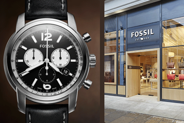 Fossil Is Still Making Billions of Dollars Selling Watches, but Its Stock Looks Like a Broken Clock