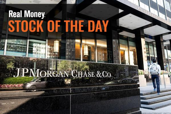 JPMorgan Chase Eases Despite Earnings Beat