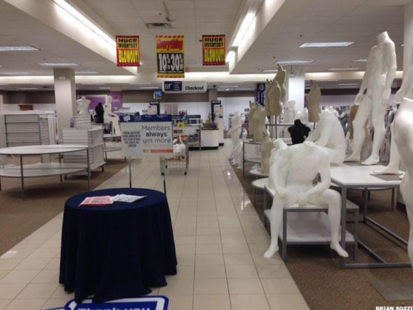 A Sears bankruptcy could instantly create hundreds of zombie (empty) locations. Source: Brian Sozzi