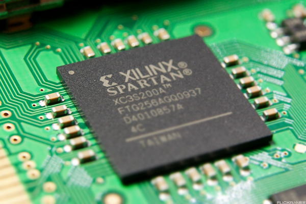 Xilinx Chart Looks Quite 'Chipper'