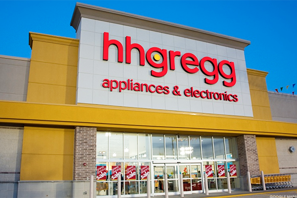 HHGregg has died.