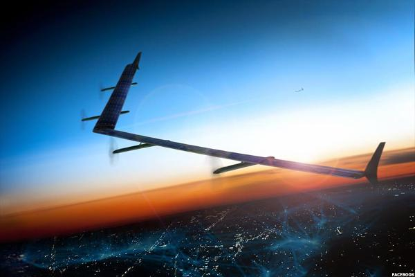 Facebook (FB) Flies: Internet Drone Tests Positive, CNBC Reports