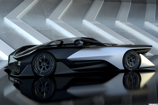 Faraday Futures New Car Looks Like The Batmobile But Its Not A