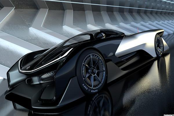 Faraday Future S New Car Looks Like The Batmobile But It Not A Tesla