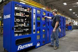 Chart: Fastenal Takes Flight, but Will It Stay Up?