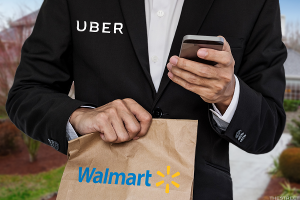 Walmart Is Using Uber Drivers to Deliver Food and Attack Amazon