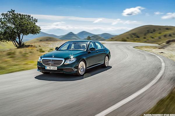 Daimler Eases Into Driverless Technology With New Mercedes-Benz E Class
