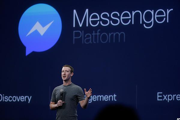 Facebook Stock Hits New Highs As Messenger Gets 1 Billion Users