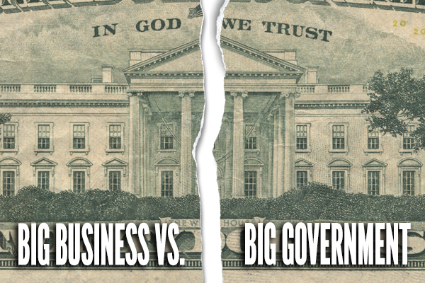 Big Business vs. Big Government