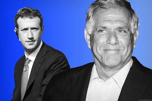 8. Facebook's Mark Zuckerberg and CBS's Les Moonves