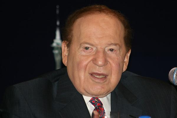 24. Sheldon Adelson