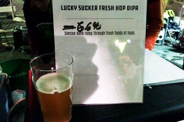 Lucky Sucker Fresh Hop Double IPA