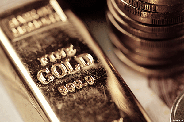 Sinking Treasury Yield Lifts Gold