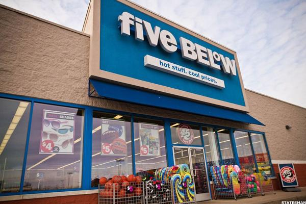 Five Below (FIVE) Stock Higher, KeyBanc Rates 'Overweight'