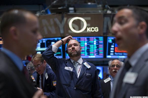 Stocks Lower on Global Growth Worries, Choppy Oil Trade