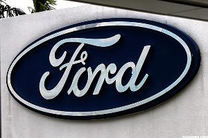 Ford Motor (F) CEO Fields Discusses 'Plateaued' Vehicle Industry