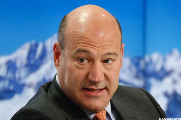 White House to Tap Gary Cohn to Lead Search for Next Fed Chief
