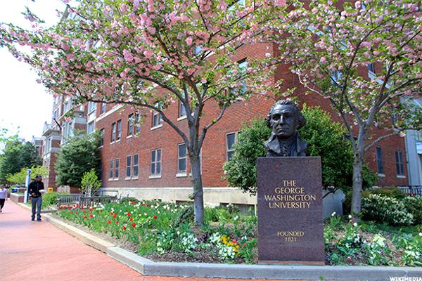 15. George Washington University: JD
