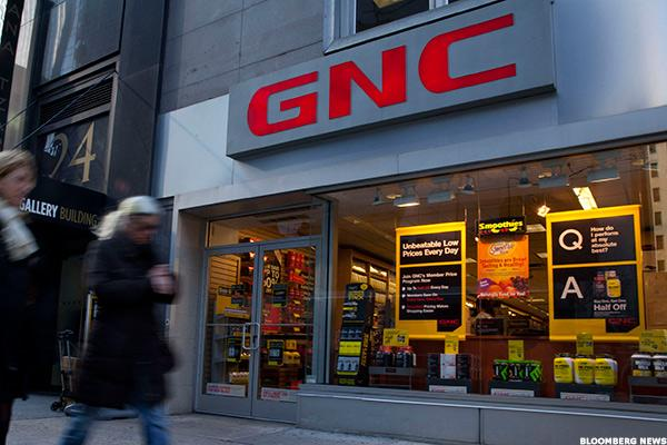 GNC's Stock Is Getting Pummeled