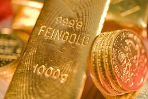 Kinross Gold (KGC) Stock Declines as Gold Prices Fall