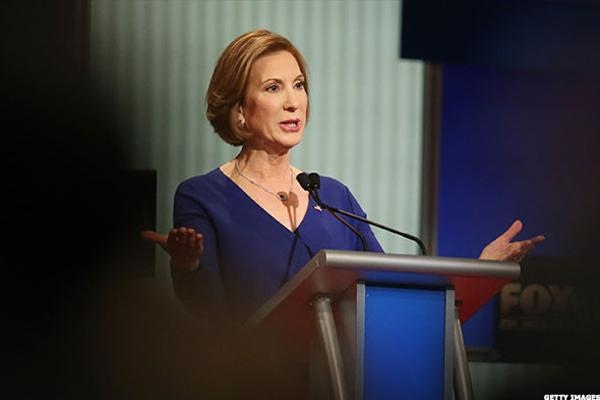 Leaders Are Made Not Born: Former Hewlett-Packard CEO Carly Fiorina