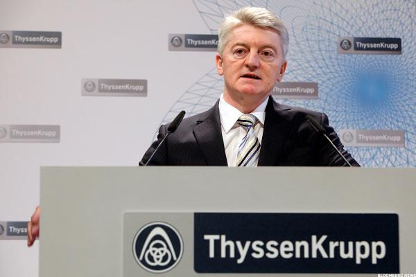 Thyssenkrupp Stock Rises on Cautiously Optimistic Outlook, Cost Cuts