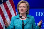 Hillary Clinton Says Prosecuting Individuals is Key to Wall Street Reform
