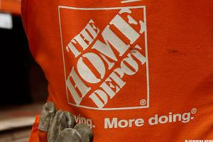 'When does Home Depot stop going down?'