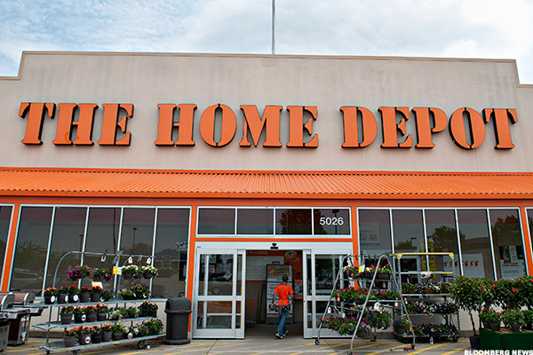 home depot stock downgraded at atlantic equities thestreet. Black Bedroom Furniture Sets. Home Design Ideas