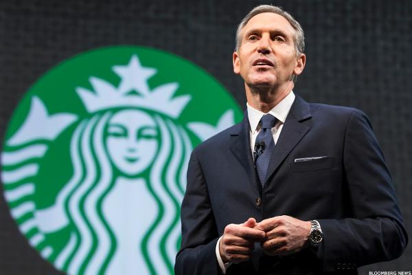 Starbucks (SBUX) CEO Schultz on CNBC: 'This Quarter Was an Anomaly'