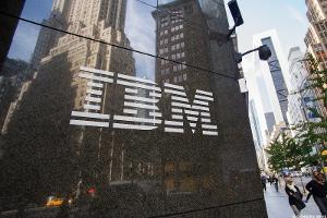 Chart: IBM Under Heavy Pressure