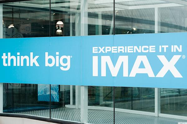 Here's Why IMAX Stock is Advancing Today