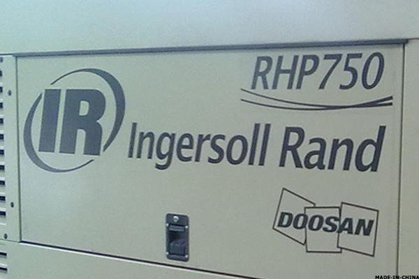 Ingersoll-Rand Breaks Out From Key Consolidation Zone