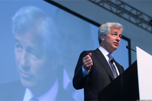 "Business leaders are committed ""to pushing beyond our parochial interests to achieve a result that benefits the economy,"" says JPMorgan CEO Jamie Dimon."