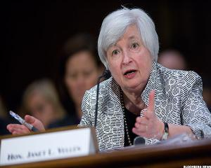 One Word to Describe Fed Chair Yellen Warning of 'Quite High' Stock Prices?