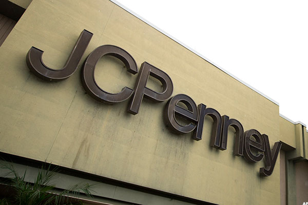 A J.C. Penney store.