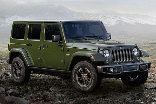 Fiat Chrysler (FCAU) Recalls Over 200,000 Jeep Wranglers Due to Airbag Malfunction