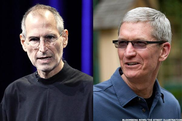 Can Apple's Tim Cook Hold a Candle to Steve Jobs?