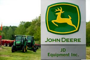 Deere (DE) Stock Retreating on Lower 2016 Sales Forecast, Layoffs