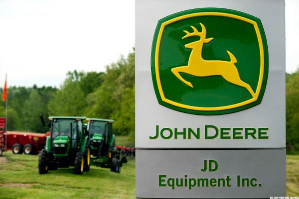 Here's a Reason Why Deere (DE) Stock Is Gaining Today